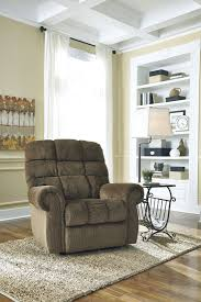 Ernestine Truffle Power Lift Recliner from Ashley