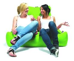Fatboy Beanbag Chair Free Faux Leather Monster B Extreme Lounging And Just A Comfy