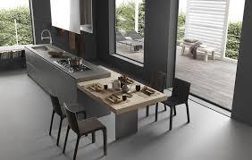 coin repas cuisine moderne îlot de cuisine et coin repas l union idéale inspiration cuisine