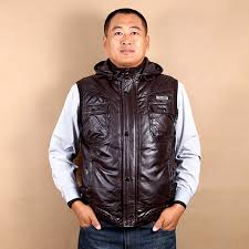 compare prices on mens brown leather jackets hooded brown online