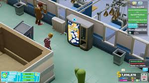 Two Point Hospital – The Video Game Soda Machine Project