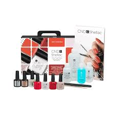 Cnd Shellac Led Lamp by Cnd Shellac Trial Pack Intro With Led Light Creative Nail
