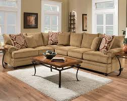 American Freight Living Room Tables by 1 300 Tan Couch Dark Brown Round Feet Twill Two Piece