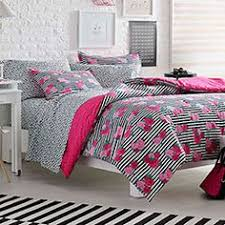 Betsey Johnson 3pc forter Set Shadow Rose Full Queen Bedding