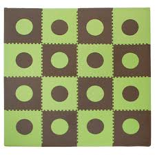 Foam Floor Mats South Africa by Flooring Eva Foam Play Mats Green Brown Floor Tiles Interlocking