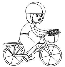 Coloring Page Bike Bicycle Transportation 99