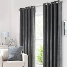 bay window curtains dunelm emerson ochre eyelet curtains solar