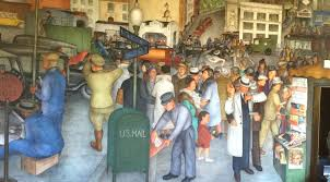 coit tower murals in san francisco