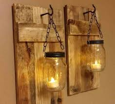 New Favorite Decor Elements Distressed Pallet Ideas With Mason Jars Are One Of