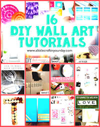 Diy Wall Art Tutorials On The Best Newspaper Crafts Ideas Weddi Home Decor Pinterest Gpfarmasi