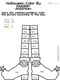 Halloween Multiplication Worksheets Coloring by 68 Best Kindergarten Color By Numbers Images On Pinterest