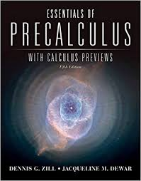Essentials Of Precalculus With Calculus Previews Jones Bartlett Learning Series In Mathematics 5th Edition