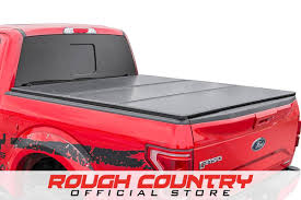 Hard Tri-Fold Tonneau Bed Cover (5.5-foot Bed W/o Cargo Management ...