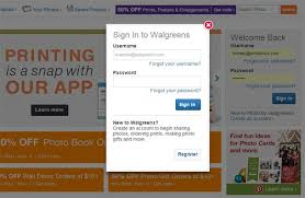 A photo of signing into your Walgreens account