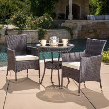 Parker Outdoor 3-piece Wicker Bistro Set With Cushions By Christopher  Knight Home Americana Wicker Bistro Table And Chairs Set Plowhearth Royalcraft Cannes Brown Rattan 3pc 2 Seater Cube Breakfast Ceylon Outdoor 3piece By Christopher Knight Home Hampton Bay Aria 3piece Balcony Patio Sirio Valentine Swivel Ellie 3 Piece Folding Fniture W Round In Dark Outdoor Cast Alinium Rattan Ding Sets Georgina With Cushions Wilko Effect