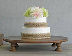 16 Wedding Cake Stand Dark Rustic Country Wooden Barn Decor E Isabella Designs As Featured In Martha Stewart Weddings