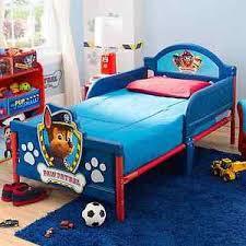 Nick Jr Paw Patrol Kids Bedroom Furniture Toddler 3D Footboard