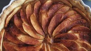 French Apple Tart Tarte De Pommes A La Normande