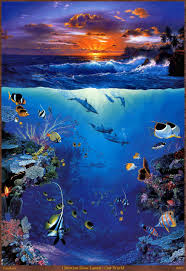 100 Christian Lassen Prints US 130 Home Decoration Wall Picture Art HD Print Seascape Oil Painting On Canvas Riese Our World NOA0567 Home