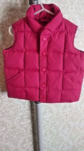girls lands end size 6x puffy vest pink what u0027s it worth