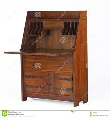 Drop Front Writing Desk by Arts And Crafts Drop Front Desk Editorial Stock Image Image 8620654