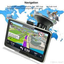 100 Truck Navigation 2019 5 GPS Car 8GB Free USA Canada Mexico US World