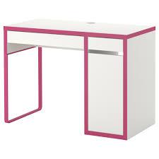 Ikea Computer Desk Workstation White Micke by Micke Desk White Pink Ikea