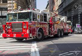 100 Big Red Fire Truck NEW YORK CITY AUGUST 24 2017 A In Manhattan