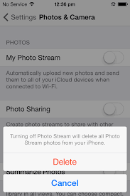 Stop Uploading s to iCloud Automatically iPhone iPhone