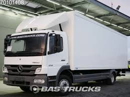 100 German Trucks MERCEDESBENZ Atego 1218 L 4X2 Truck Ladebordwand Euro 5