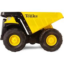 Funrise Toy Tonka Toughest Mighty Dump Truck - Walmart.com