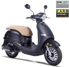 2017 ZNEN 50cc Scooter F10 50 With 12 Big Tires Dual Disc Brakes