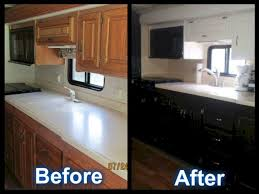RV Motorhome Remodel Before And After
