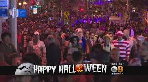 West Hollywood Halloween Carnaval 2015 by Hundreds Of Thousands Pack Streets For Annual Halloween Carnaval