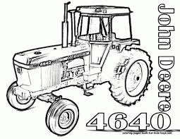 John Deere Coloriages On 49 Awesome Dessin Tracteur John Deere