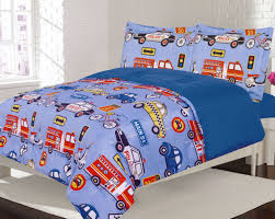 Crest Home Adore Full 3 Pc Bedding Comforter Set, Boys Cars Trucks ...