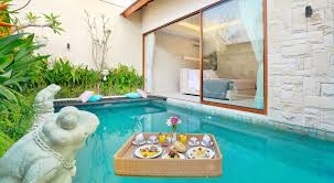 100 Bali Tea House La Vie Villa Tropical Romantic One Bedroom Private Pool