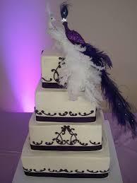 Purple Peacock Wedding Cake Yelp