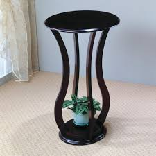 Patio Plant Stand Uk by Plant Stand Sensational Pedestal Plant Stand Wood Photos Ideas