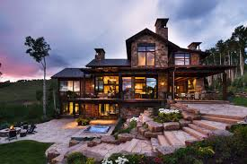 100 Mountain Home Architects Contemporary Mountain Retreat In Colorado Infused With