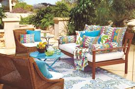 Cost Plus World Market s outdoor cushions and pillows offer summer