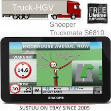 100 Commercial Gps For Trucks Snooper Truckmate S6810 EU7 HGV GPS SatNavAir1