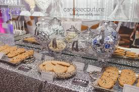 Mirror Classy Dessert Table Wedding Silver