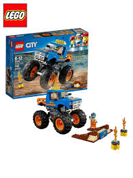 Buy LEGO City Great Vehicles Kid's Construction Toy Monster Truck ... 11 Cool Garbage Truck Toys For Kids Amazoncom Lego City Great Vehicles 60056 Tow Games 1934 Steelcraft Pressed Steel Delivery Toy Good Value 536pcs Building Blocks Police Station Prison Figures Cleaner Mini Action Series Brands State Road Rippers Service Fleet Fire Ladder 60107 Big W R Us Story Best Resource Construct A Truckcity Builder Time 4 Boys Trucks For Adventure Wheels And Boat Lebdcom Light Sound Apk
