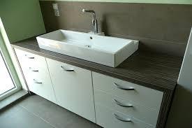 meuble de cuisine transformé en meuble salle de bain idée de
