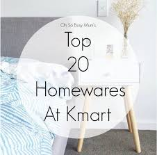 Kmart Christmas Trees Nz by Top 20 Homewares At Kmart