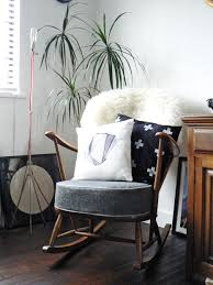 Light Gray Rocking Chair Cushions by Furniture Cozy Gray Target Rocking Chair With Dark Wood Frame On