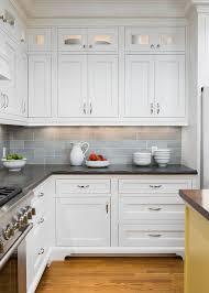 27 Antique White Kitchen Cabinets Amazing Photos Gallery Grey BacksplashKitchen