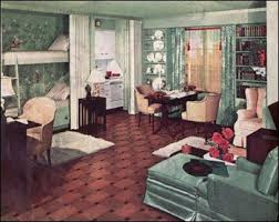 1930s American Living Room