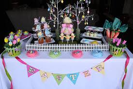 Cakes Decorated With Sweets by Easter Sweets Table The Hopeless Housewife The Hopeless